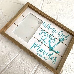 Christian Anchor Hobby Libby Picture Frame